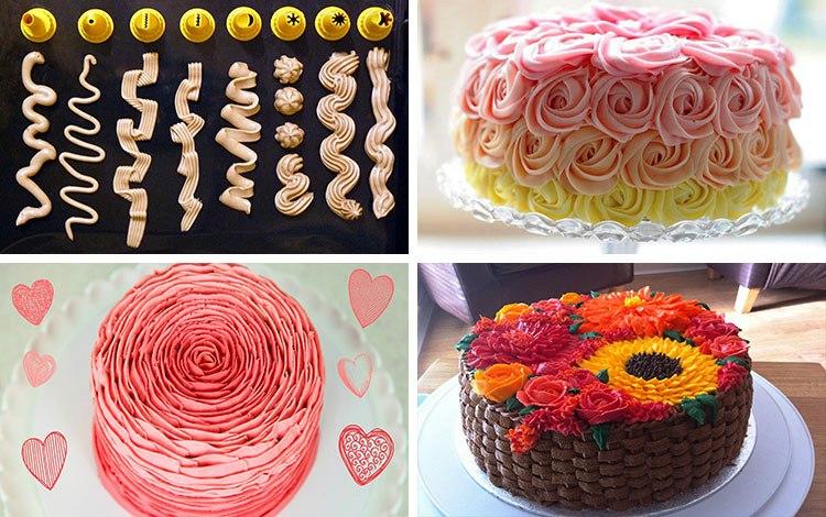 как можно украсить торт фото